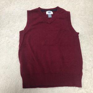 Old Navy boys sweater vest XS (5)